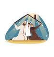 family fatherhood motherhood insurance vector image