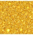 Golden sparkles texture EPS 10 vector image vector image