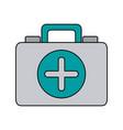 medical health kit vector image