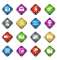 Post service icons set vector image vector image