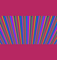 retro stripes style abstract background eighties vector image vector image
