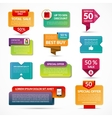 set sale banners labels tags vector image vector image