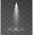 spotlight light scene vector image vector image