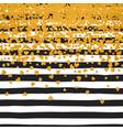 background of random falling hearts vector image vector image
