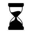 business clock hourglass vector image vector image