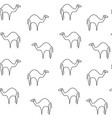 camel pattern seamless vector image