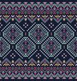ethnic seamless pattern aztec tribal art print vector image
