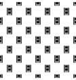 Handheld GPS pattern simple style vector image vector image