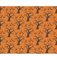 Seamless halloween trees backgrounds vector image vector image