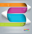 step by template vector image vector image