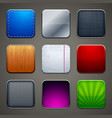 Backgrounds for apps icons vector | Price: 1 Credit (USD $1)