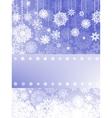 Beige christmas with christmas snowflake EPS 8 vector image vector image