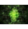 Dark green geometrical background vector image vector image