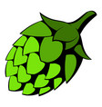 green hop icon icon cartoon vector image