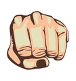 hand gesture icon image vector image vector image