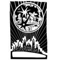 Lunar City vector image vector image