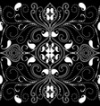 ornamental paisley seamless pattern vector image vector image
