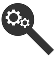 Search Tools Flat Icon vector image vector image