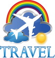 travel 02 resize vector image vector image