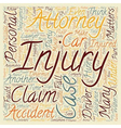 Why Hire A Personal Injury Attorney text vector image vector image