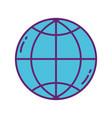 world commerce strategy digital marketing vector image