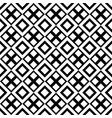 abstract black and white geometrical square vector image vector image