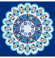 blue ottoman serial patterns seven