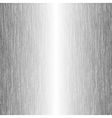 brushed metal template background vector image vector image