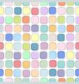 color seamless geometric pattern - fashion design vector image