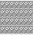 monochrome retro geometric pattern vector image vector image