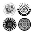 pattern brush vector image