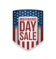 united states independence day sale banner vector image vector image