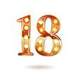 celebrating of 18 years anniversary