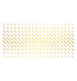 chain gold halftone grid vector image