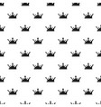 crown pattern seamless vector image vector image