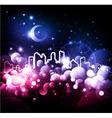fantasy city vector image vector image
