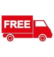 Free shipment icon vector image