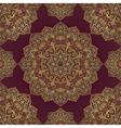 Lilac pattern of mandalas vector image vector image