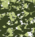pixel halftone theme background vector image vector image