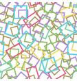 postage stamps frames pattern vector image vector image