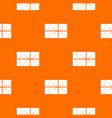 postal parcel pattern seamless vector image vector image