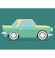 Vintage Isolated car vector image