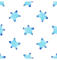 watercolor starfish pattern vector image