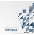 banners and squares Color set mosaic vector image vector image