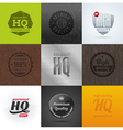 High Quality emblems and signs vector image