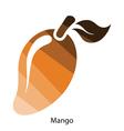Mango icon vector image vector image