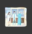 medicine protection healthcare coronavirus vector image vector image