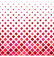 red square pattern background - from diagonal vector image vector image