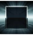 Abstract virtual space screen vector image