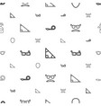 hipster icons pattern seamless white background vector image vector image